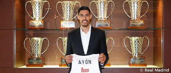 Officiel: Le Real Madrid annonce Gustavo Ayon
