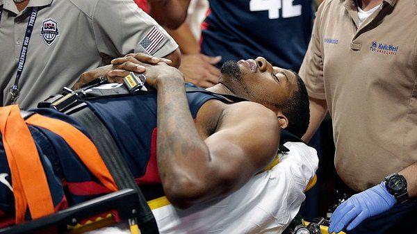 Team USA: La (très) grave blessure de Paul George fait chagriner tout le monde du basket