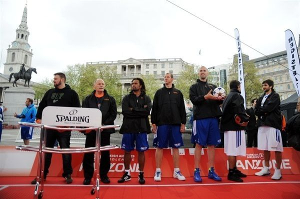 UEFA, Euroleague legends join Special Olympics in basketball celebration