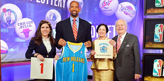 Draft NBA 2012: New Orleans remporte la cagnotte