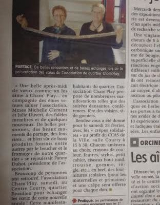 article voeux Cham' Play