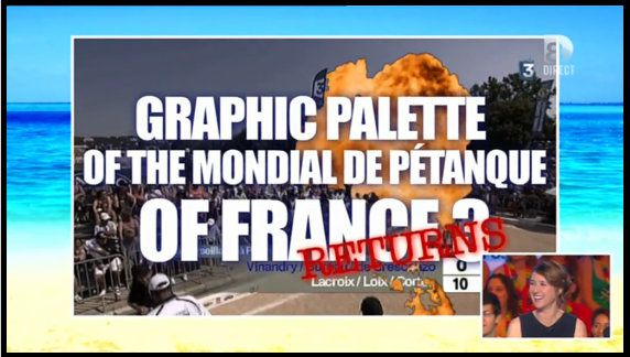 Les trucages ridicules de France 3 (VIDEO)