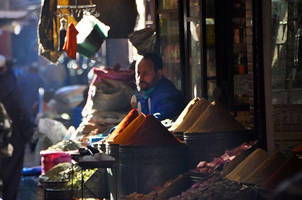 Le marchand d'épices qui m'a vu