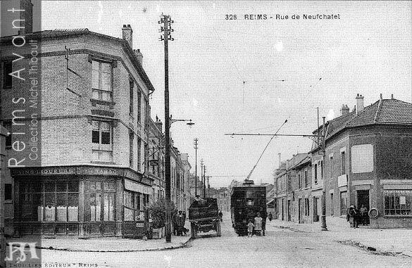 """Le """"Café de l'Armée"""" rue de Neufchâtel"""
