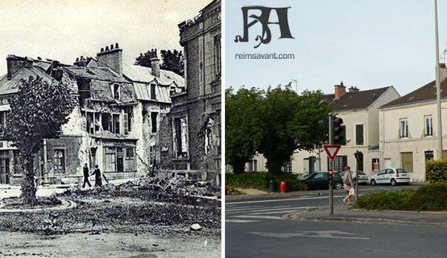 Place Ruinart de Brimont après 1914-1918