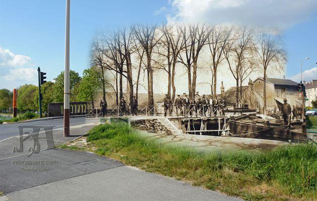 Le Pont-Huon occupé par la Troupe