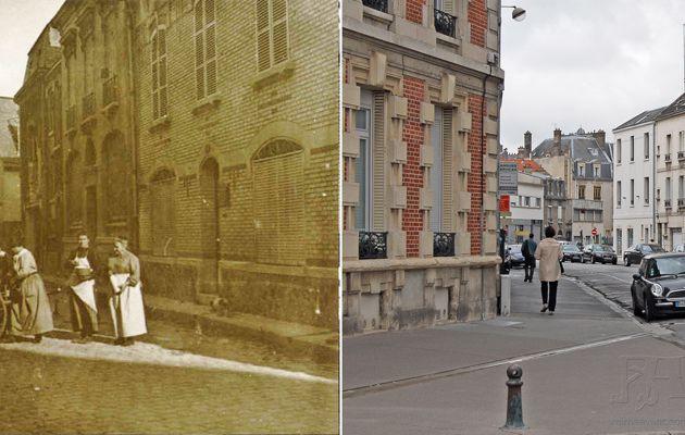 Carrefour de la rue Legendre, Pluche et de l'Echauderie