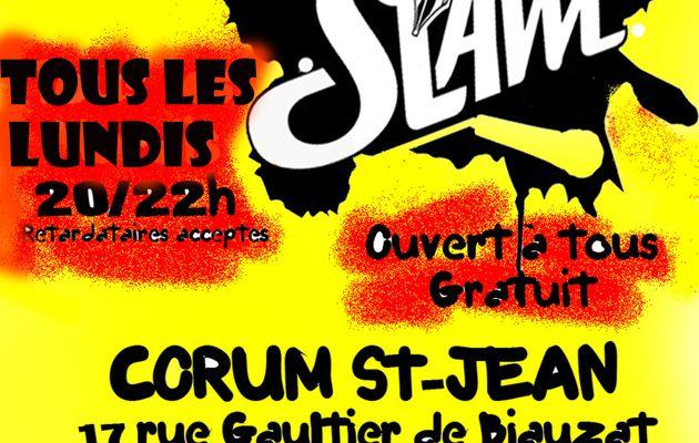 Rendez-vous Slam de poésie à Clermont-ferrand (Puy de dome / Auvergne)