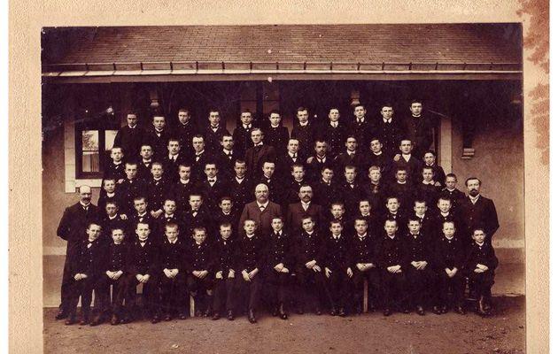 Ecole Primaire Supérieure de CDL en 1907 - 1908