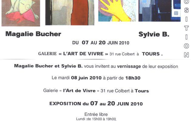 magalie bucher_sylvie b._du 7 au 20 juin_31 rue colbert tours