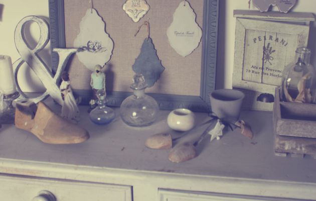 """""""Enchanted My Home"""" ETOILES, PAPILLONS ET COEURS"""