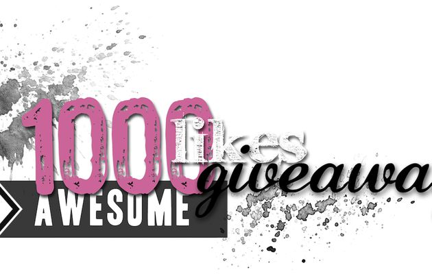Giveaway des 1000 likes