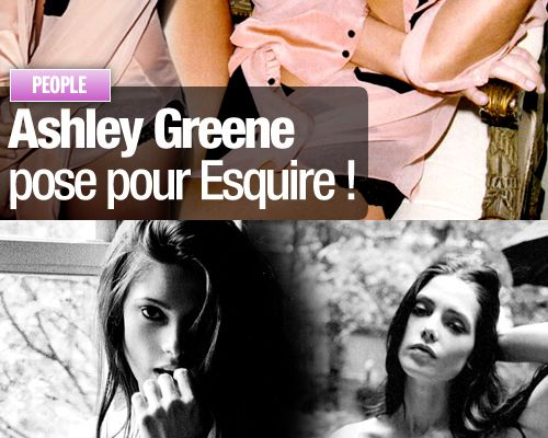 Ashley Greene pose pour Esquire !