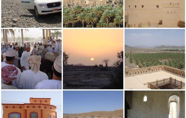 Oman: l'intérieur des terres
