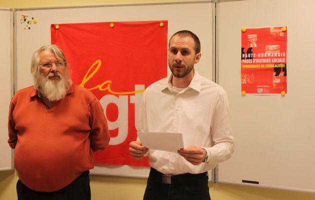 Vœux de l'Union locale CGT de Dieppe