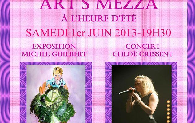 Concert et expo le 1 juin à Dieppe