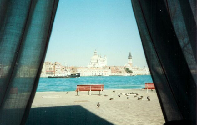 Point de vue sur Venise, Italie