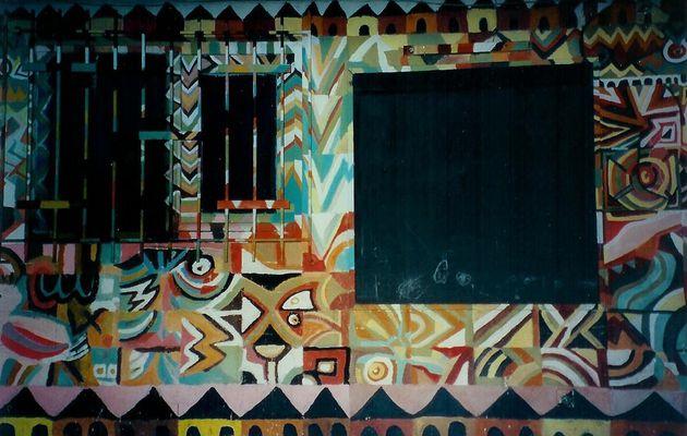 Peinture murale à Abidjan, Côte d'Ivoire