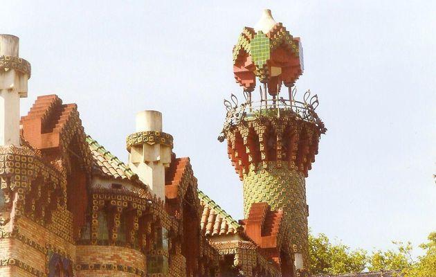 Antoni Gaudi à Comillas, Cantabrie, Espagne