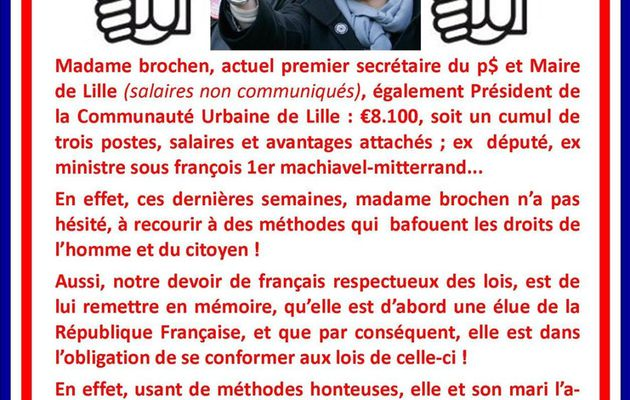 SUGGESTIONS POUR MARTINE BROCHEN (aubry)