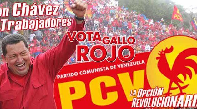 Les communistes vénézuéliens appellent à faire ré-élire Hugo Chavez à la présidence en donnant un contenu révolutionnaire au vote