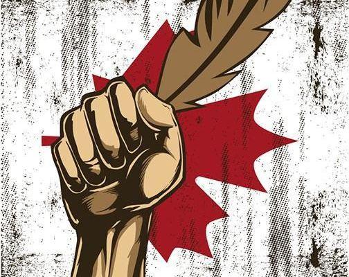 Le Parti communiste du Canada solidaire des luttes des Amérindiens : les autochtones portent les droits de tous
