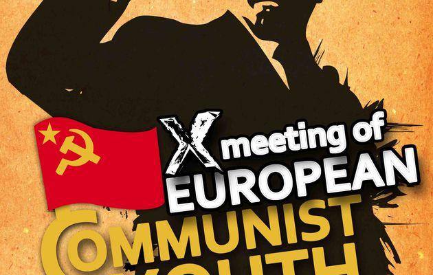 10 ème rencontre des Jeunesses communistes d'Europe : « organiser les luttes pour mettre en échec la politique de l'UE du capital »