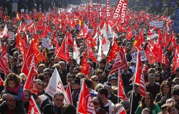 Deux millions de manifestants en Espagne contre la nouvelle réforme du travail : un immense potentiel de lutte face à des syndicats qui prônent le « dialogue social »