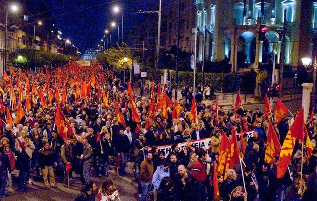 Les communistes grecs commémorent le 40 ème anniversaire de la révolte étudiante, début de la fin de la « dictature des colonels »