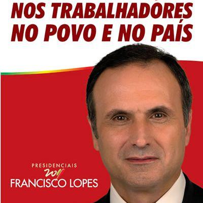 Bon résultat pour le candidat communiste au Portugal, avec 7,2% des voix, alors que le candidat PS soutenu par le « Bloc de gauche » essuie un revers historique