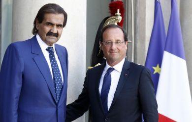 L'émir du Qatar reçu par Hollande : des contrats en Rafale pour oublier son soutien aux djihadistes qui embrasent l'Irak (après la Syrie) !