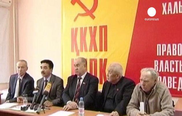 39 partis communistes et ouvriers protestent contre l'interdiction du Parti communiste du Kazakhstan