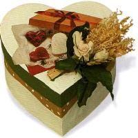 Bricolage St Valentin ... boîte coeur