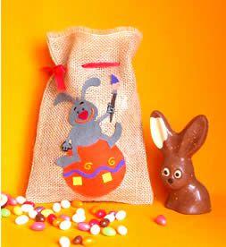 Bricolage pour Pâques ... le sac à friandises