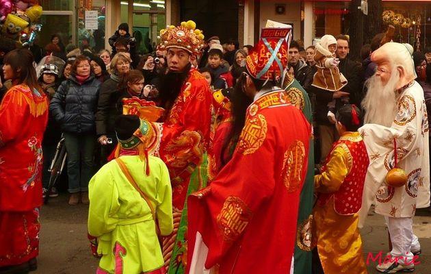 Nouvel an chinois..à Paris XIII ème