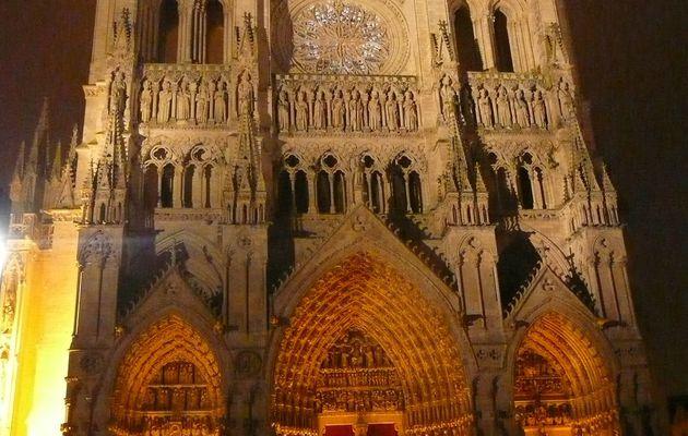 Noël en la cathédrale d'Amiens...