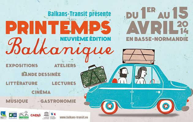 "9ème ""Printemps balkanique"", 1er au 15 avril 2014"