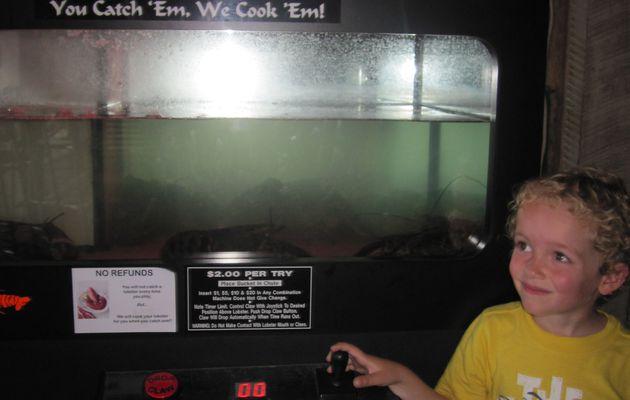 A la pêche aux homards