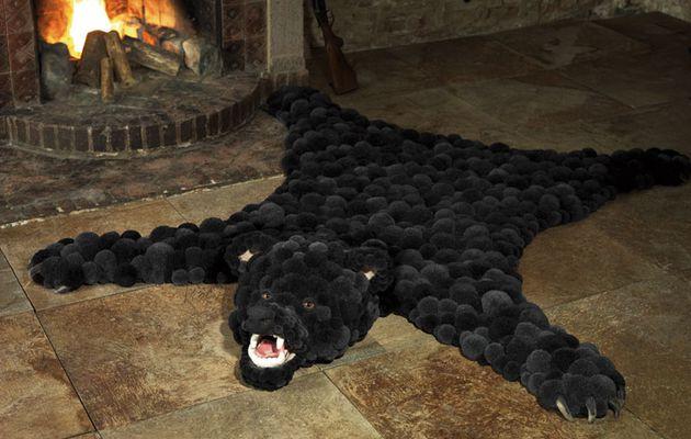 Génial ce tapis peau de bête !