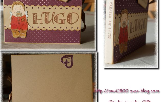 [ Carte porte CD ] pour Hugo