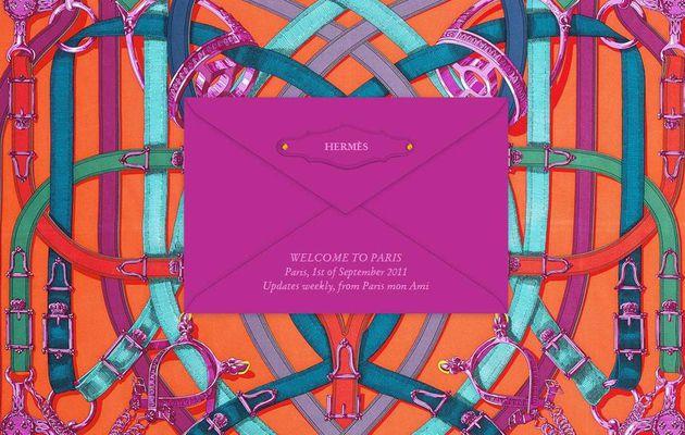 """""""Paris mon ami"""", le digital façon Hermès"""
