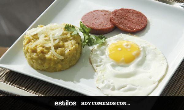 Petit dejeuner style dominicain
