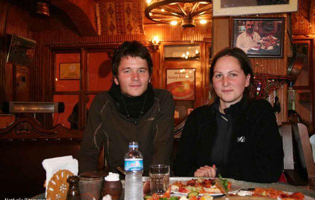 Sarah, Nicolas et leurs vélos, sur les routes de Turquie