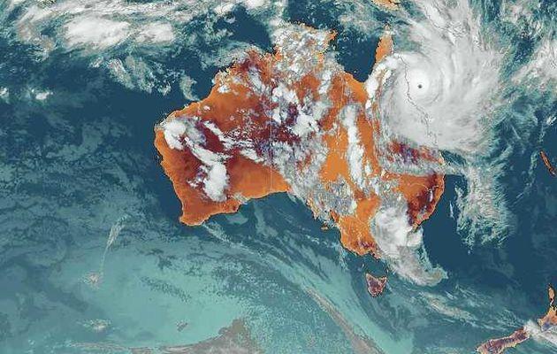 Etat d'alerte - Cyclone Yasi