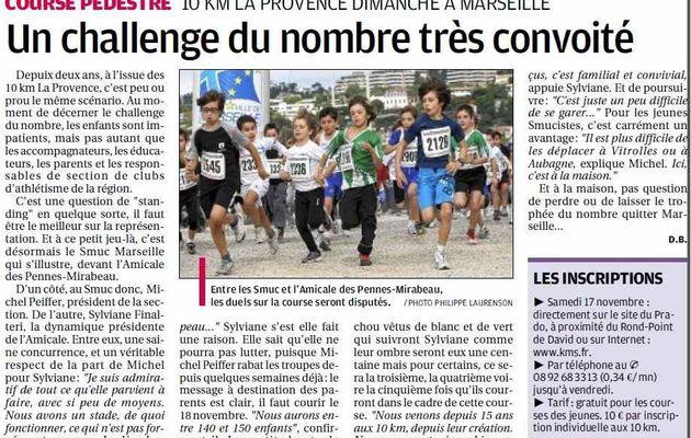 La course de La Provence, c'est ce dimanche 18 novembre