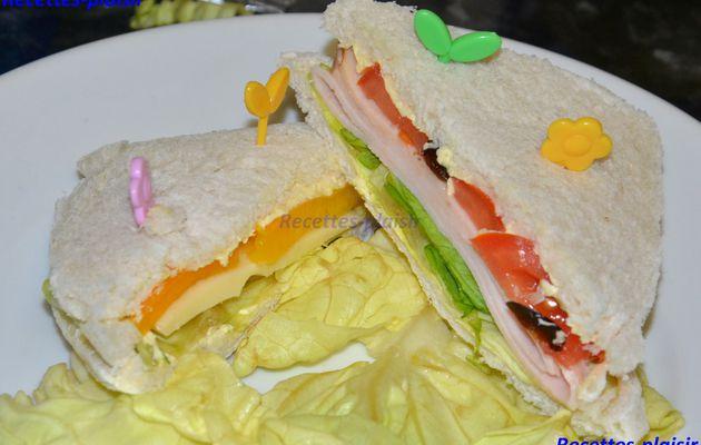 Sandwiches Pique-nique à la maman moomin