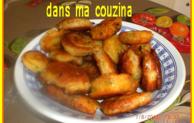 beignet courgette/cachir