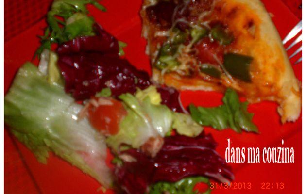 pizza so déliciouz merguez/poivron vert