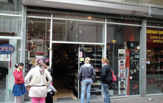 Game Over : retrogaming shop in Amsterdam