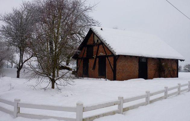 La neige dans le nord de la France